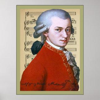 Wolfgang Amadeus Mozart Posters