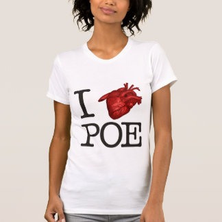 Woman T-Shirt « Poe Heart ""