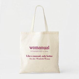 Womanual - comme un manuel seulement meilleur ! sac