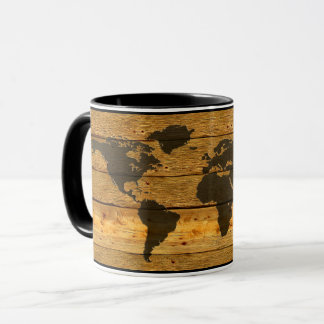 WOOD EARTH MUG