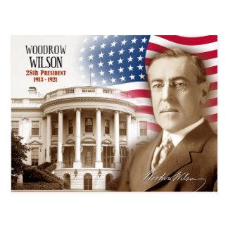 Woodrow Wilson - 28ème président des États-Unis Cartes Postales