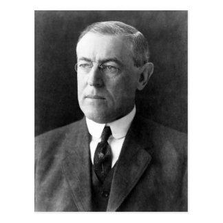 Woodrow Wilson Carte Postale