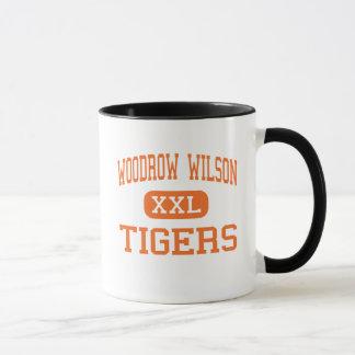 Woodrow Wilson - tigres - haut - New Jersey de Mug
