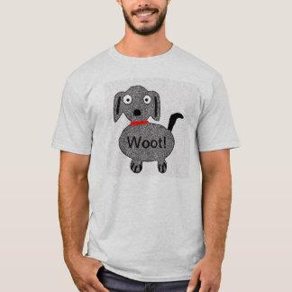 Woot ! Le T-shirt des hommes de chiot