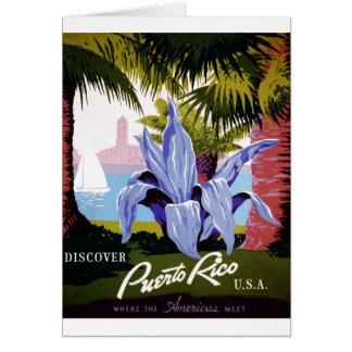 WPA - découvrez Porto Rico Cartes