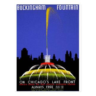 WPA - fontaine de Buckingham Carte Postale