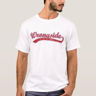 Wrongside du T-shirt de voies