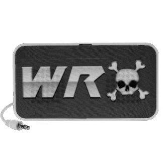 WRX avec le crâne Haut-parleur Ordinateur Portable