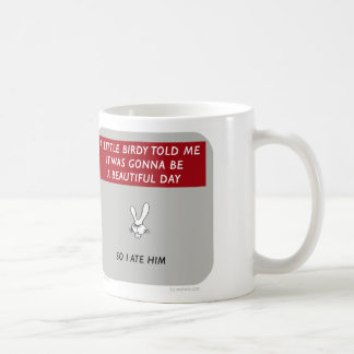 "WW046 waitwot ""lapin de badass"" peu birdy Mug"