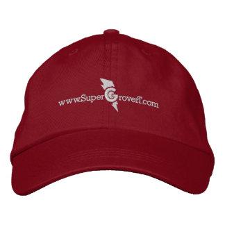 www.SuperGroverT.com - casquette brodé