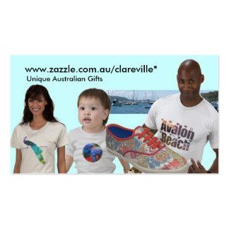 www zazzle com au clareville cartes de visite personnelles