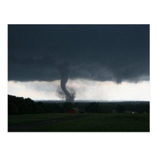 Wynnewood, carte postale CORRECTE de la tornade