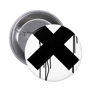 x-égouttement badge