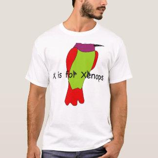 X est pour le T-shirt de Xenops
