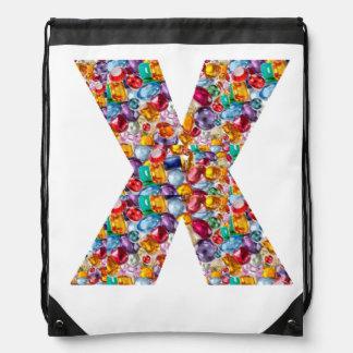 X SAC À DOS EX D'ALPHABET DE RAYON X :  ART par NA