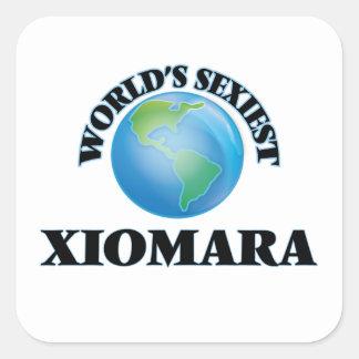 Xiomara le plus sexy du monde sticker carré