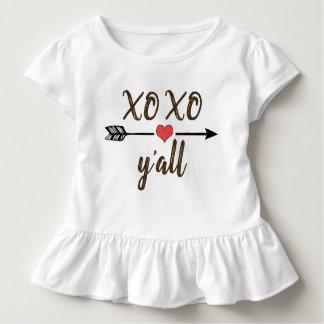 XO XO vous robe de chemise de Saint-Valentin de