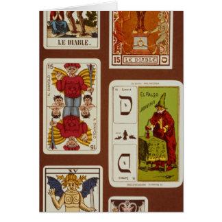 XV le diable Carte De Vœux