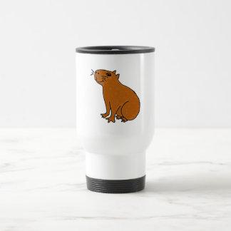 XX art de Capybara Mug De Voyage