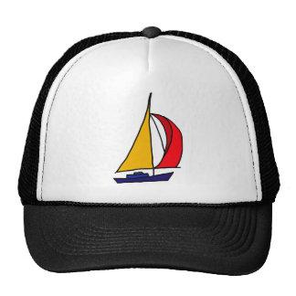 XX bateau à voile coloré Casquettes De Camionneur