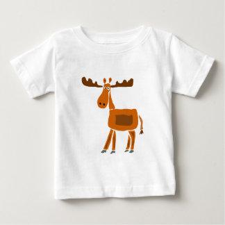 XX conception drôle d'art d'orignaux T-shirt Pour Bébé