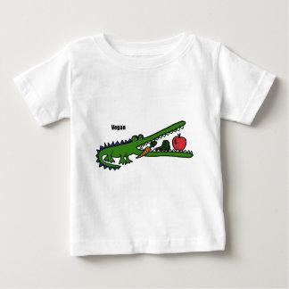 XX crocodile de végétalien T-shirt Pour Bébé