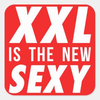 XXL est le nouveau sexy Sticker Carré