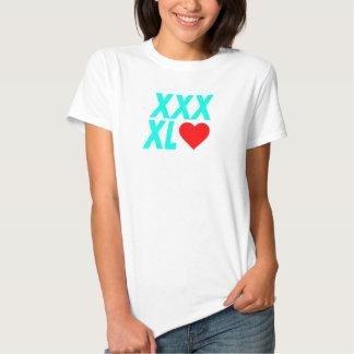 XXXL (coeur) - vert T-shirts