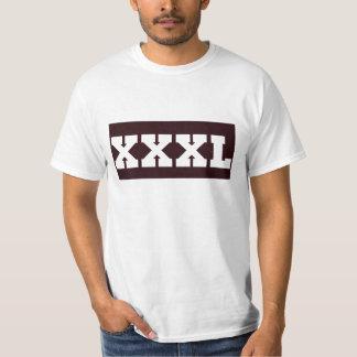 xxxl (de base) t-shirt