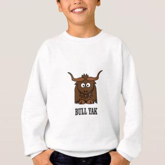 yaks de taureau sweatshirt