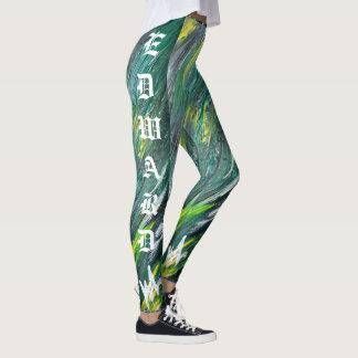 Yard irlandais avec des guêtres de signature de leggings