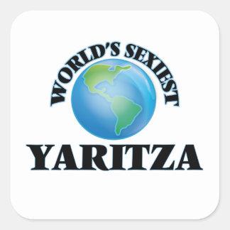 Yaritza le plus sexy du monde stickers carrés
