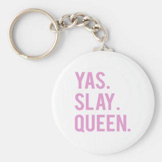 Yas massacrent la copie de rose de la Reine Porte-clés