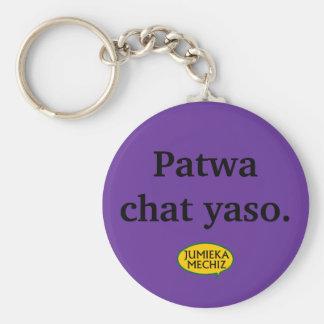 Yaso de conversation de Patwa Porte-clé Rond