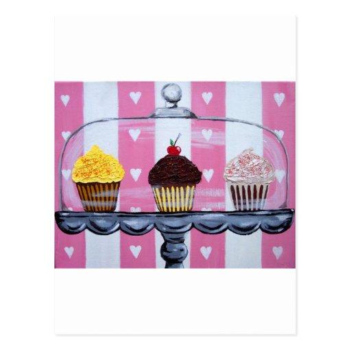 yea ! petits gâteaux ! carte postale