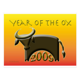 YearOx2009 Cartes Postales