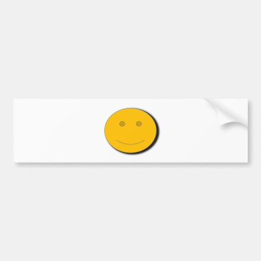 yellowhappyface adhésifs pour voiture
