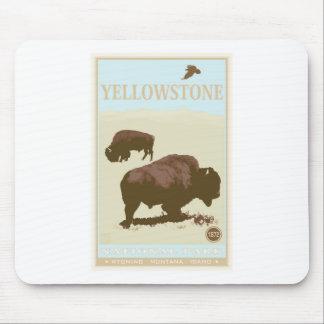 yellowstone2 tapis de souris