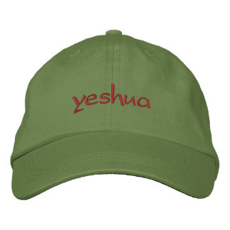 yeshua casquette brodée