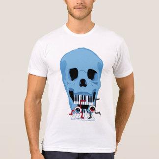 Yeux de crâne et de note musicale t-shirt