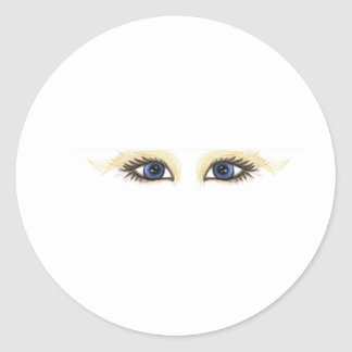 yeux de Web Autocollants Ronds