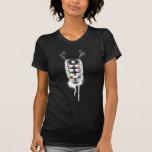 Yeux du crâne 6 (négatifs) t-shirt