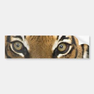 Yeux du tigre autocollant pour voiture