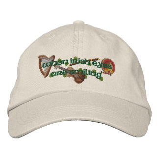 Yeux irlandais casquette brodée