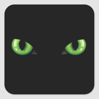 Yeux vert sticker