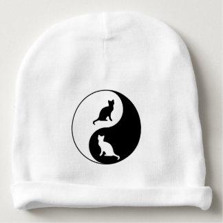 Yin et chat de Yang Bonnet De Bébé