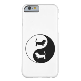 Yin et Yang Basset Hound Coque iPhone 6 Barely There