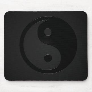 Yin foncé et coup sec - Yin Yang Tapis De Souris
