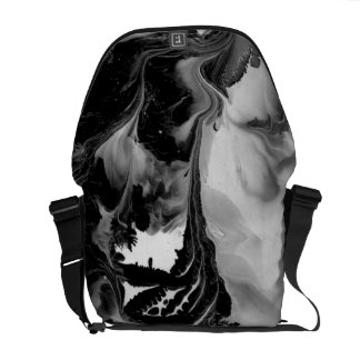 YIN - YANG AUSSI ! ~ de ~ (d'art noir et blanc) Sacoche