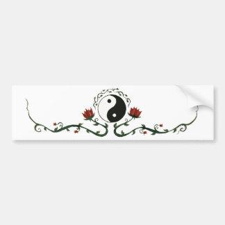 Yin Yang en nature Autocollant De Voiture